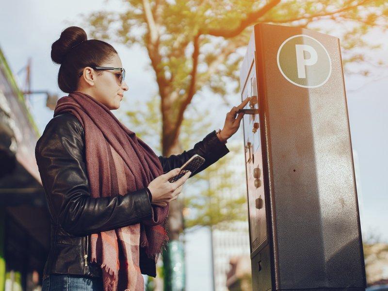 Parking ticket rolls - Materials