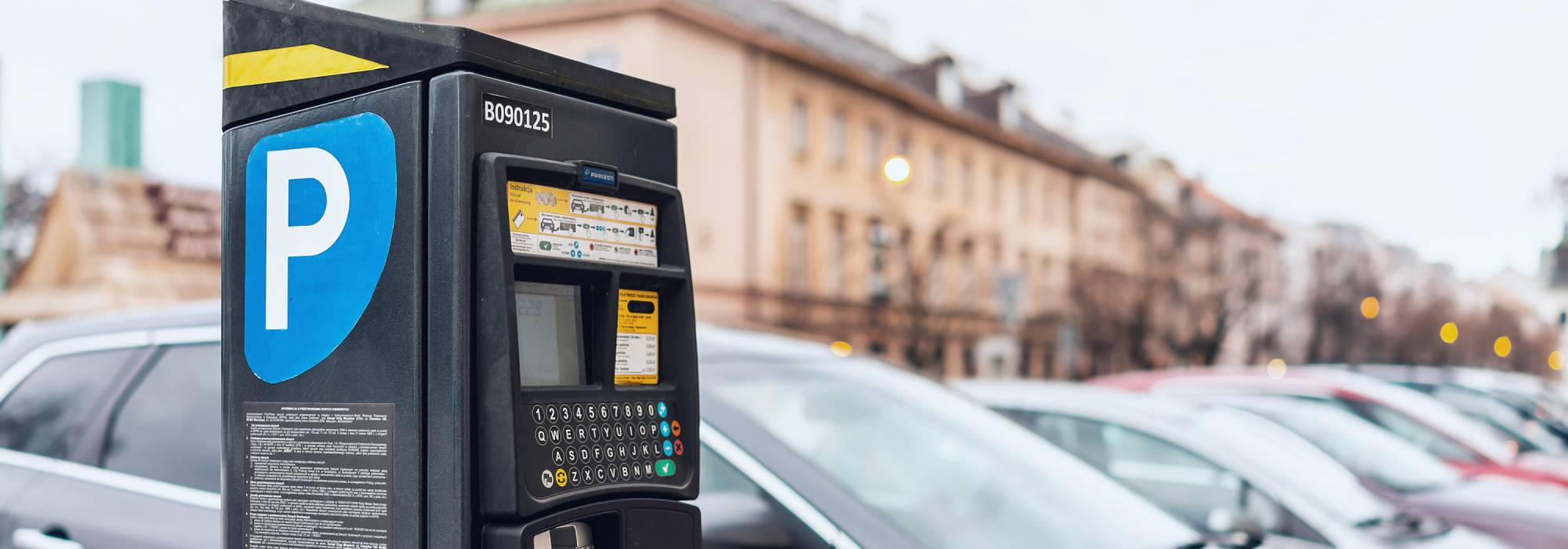 Parking meter rolls